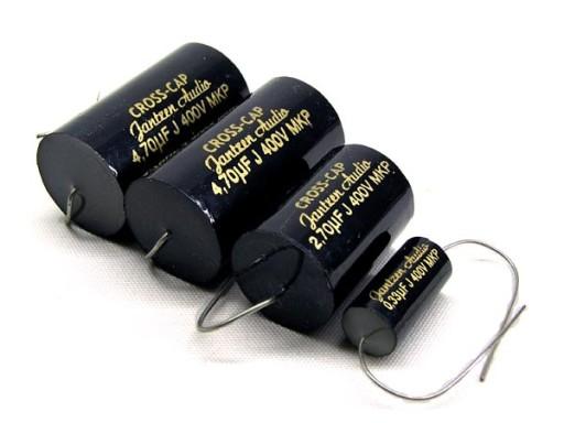 Jantzen Cross - Cap kondensator 15,00 uF SUPER