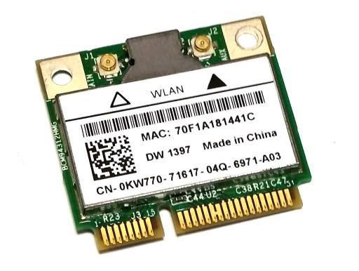 Broadcom Karta sieciowa WIFI miniPCIe 54MBs 0KW770