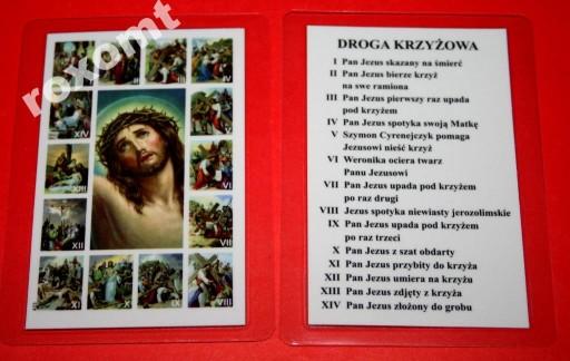 Droga Krzyzowa Obrazek Sceny Stacje Jezus Krzyz 5097099500 Allegro Pl