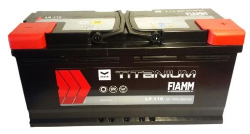 AKUMULIATORIUS FIAMM 110Ah 950A +P DUCATO A8 Q7 BMW