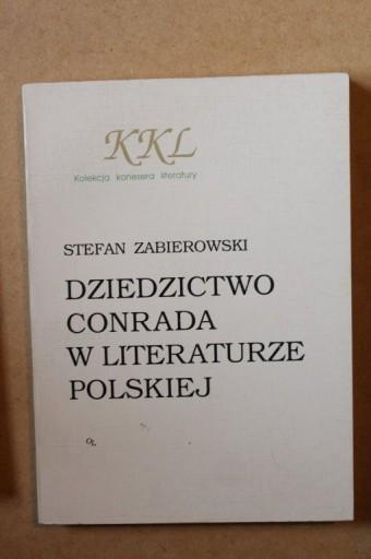 Dziedzictwo Conrada w literaturze polskiej  CONRAD