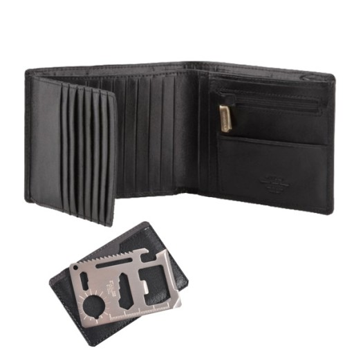 01d5c31740c47 Męski portfel WITTCHEN 10-1-262 + KARTA SURVIVAL 7707946901 - Allegro.pl -  Więcej niż aukcje.