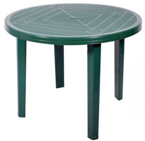 Mocny Okragly Stol Opal Ogrodowy Plastikowy 90 Cm 6795486902 Allegro Pl
