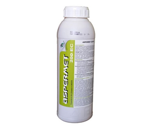 ASPERMET 200EC 1L oprysk KLESZCZE komary MUCHY