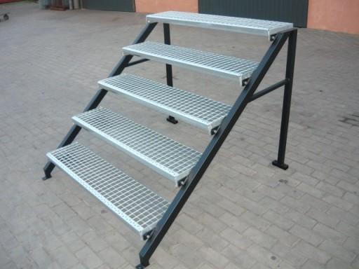 Chwalebne Schody wolnostojące metalowe,zewnętrzne,stopnie120 6839733034 AE53