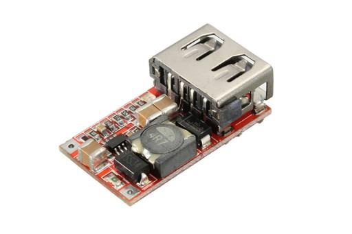 Przetwornica ładowarka USB 5V Step down 12-24V 3A