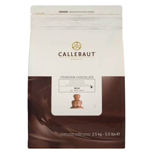 Czekolada Callebaut MLECZNA do fontann 2,5kg