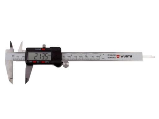 Modernistyczne SUWMIARKA CYFROWA ELEKTRONICZNA L 150mm WURTH FV 6767809194 TT75