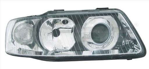 REFLEKTOR LAMPA TYC AUDI A3 (8L1)