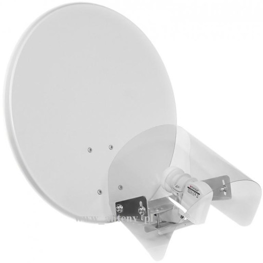 OSŁONA KONWERTERA NA WYSIĘGNIK anteny satelitarnej