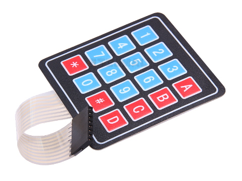 Klawiatura membranowa 4x4 Arduino AVR PIC ARM