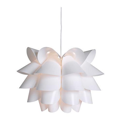Ikea Knappa Lampa Sufitowa Wisząca Biała żyrandol 6726812968