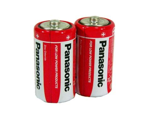 sztuki 2x BATERIA PANASONIC baterie R14 C