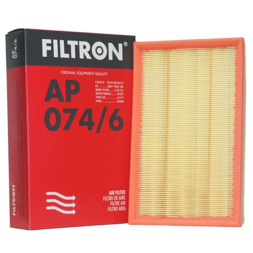 FILTRON filtr powietrza AP074/6 Focus II S40 V50
