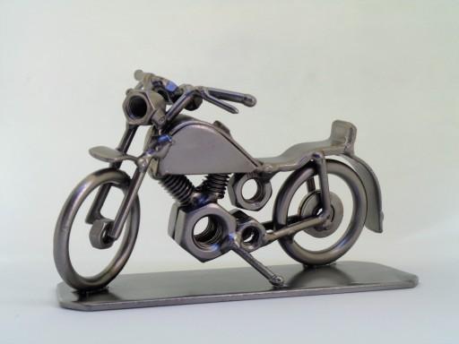 Motocykl Z Metalu Prezent Motor Garaż Dla Niego 7765264008 Allegropl