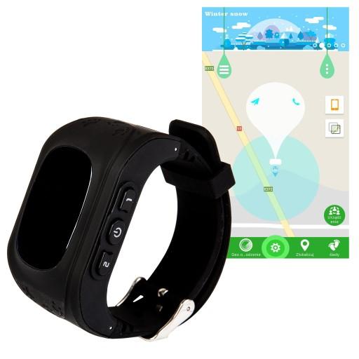 Smartwatch Zegarek Q50 Lokalizator GPS dla Dzieci