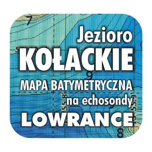 Jezioro Kołackie mapa na echosondy Lowrance Simrad