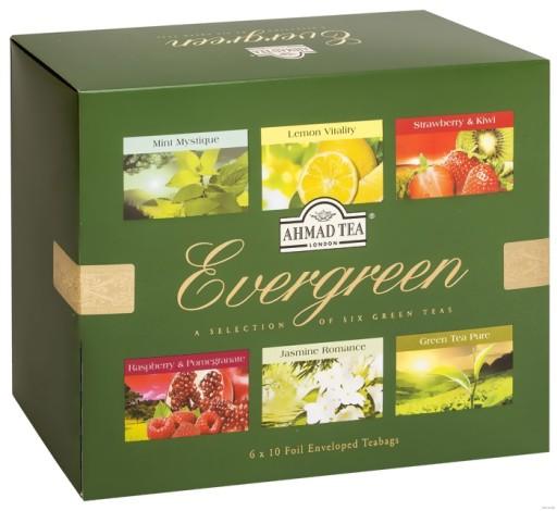 Ahmad Herbata Owocowa Zestaw Evergreen Sprawdz 7666583131 Allegro Pl