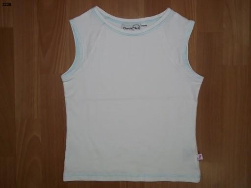 2228 Dziewczęca koszulka z krótkim rękawem roz.146