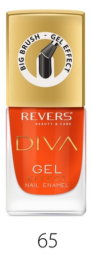 REVERS DIVA Lakier do paznokci z GEL EFFECT nr.065