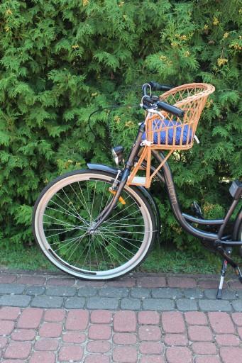 Fotelik Wiklinowy Na Rower Dla Dziecka Poduszka 7501211439 Allegro Pl
