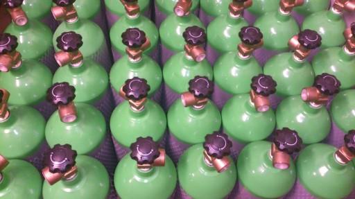 Napełnianie butli powietrzem Poznań 300 Bar
