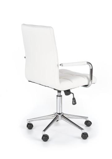 Fotel Do Biurka Gonzo 2 Krzesło Obrotowe Białe