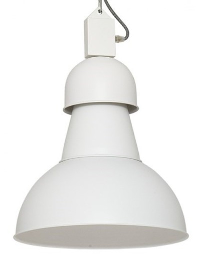 Żyrandol Lampa wisząca HIGH BAY biała Loft 5066