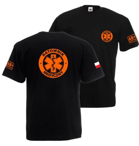 Koszulka Ratownik MEDYCZNY 1