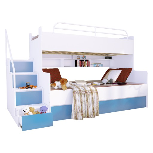 łóżko Piętrowe Magnum 3 Osobowe Beta Materace