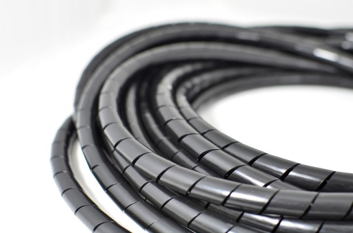Organizer maskownica spirala osłona kabli 10 /10m