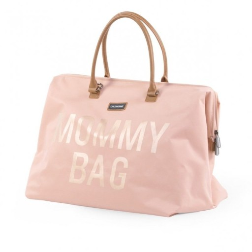 f67fe3b32fe6f Childhome Mommy Bag Torba podróżna Róż DZIEŃ MAMY 7206715905 ...