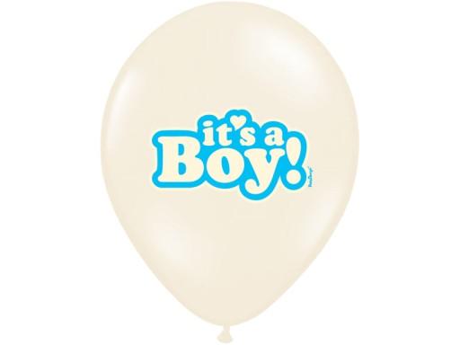 id_2373 BALON BALONY CHRZEST BOY BABY SHOWER TORT
