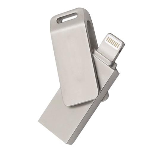 Podłącz dysk flash do iPhonea