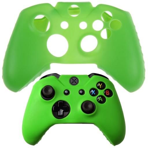 Osłona Etui Nakładka Sylikon Pada Xbox One zielony