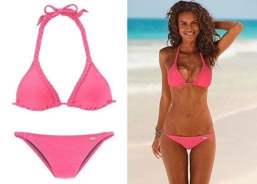 c1b6cc5fc6003 BUFFALO bikini strój kąpielowy NEON 40A/B GÓRA 7130225553 - Allegro.pl