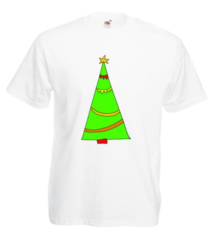 M KOSZULKA MĘSKA ŚWIĘTA RENIFER MIKOŁAJ WZORY 10689685659 Odzież Męska T-shirty DL ZEAADL-6