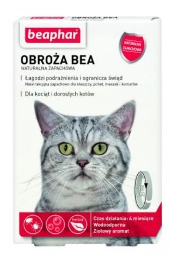 BEAPHAR obroża ochronna pchły kleszcze kot $