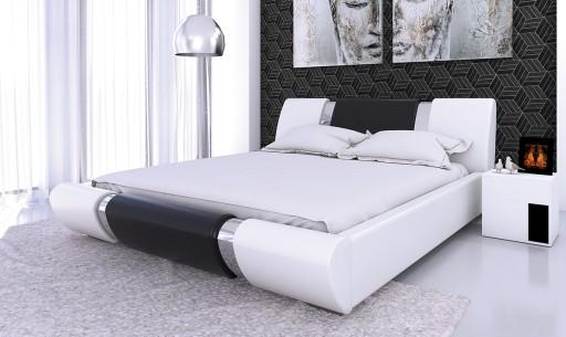 łóżko Sypialniane 140x200 Materac Pocket Pojemnik