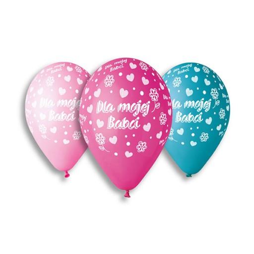 Balony Na Dzien Babci Dla Mojej Babci Zestaw 7777748020 Allegro Pl