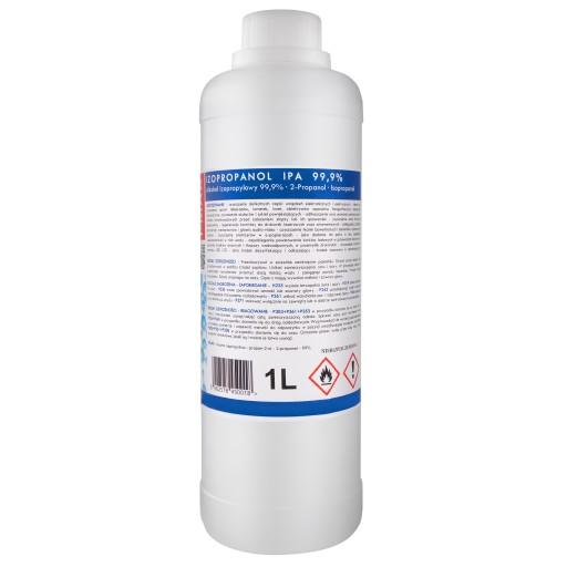 IPA Czysty Alkohol Izopropylowy Izopropanol 99% 1L