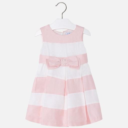 05343d8868 MAYORAL sukienka elegancka 3922 ecru roz.128 cm 7429185213 - Allegro.pl