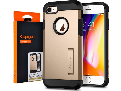 iPhone 8/7 | Etui Pancerne Mocne | Spigen Tough 2