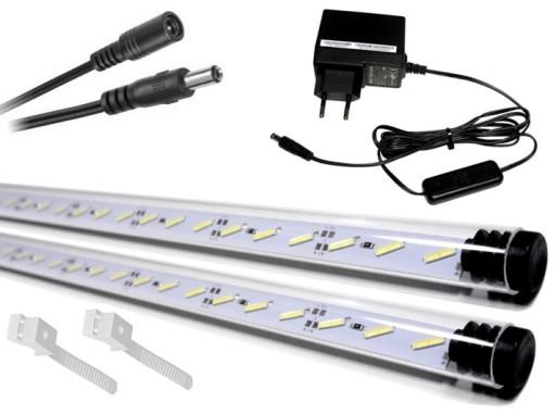 2x70cm świetlówka Led 8520 Oświetlenie Akwarium