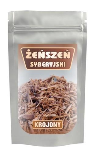 Żeńszeń Żeń-szeń Syberyjski, krojony - 100G