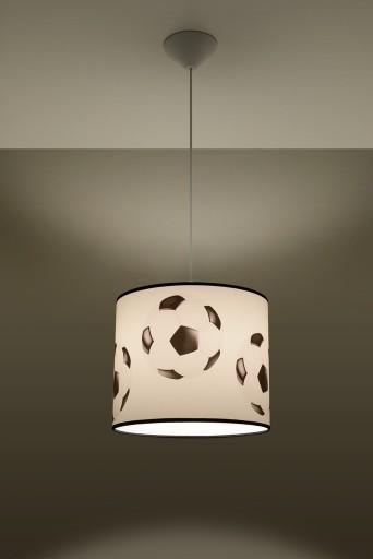 Abażurowa Lampa Wisząca Dla Chłopca Soccer Play