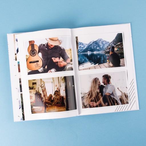 Foto-książka A4 pion 28 strony, foto-album
