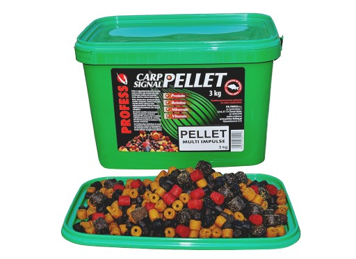 PROFESS Pellet Zanętowy MULTI IMPULSE - Mix - 3kg