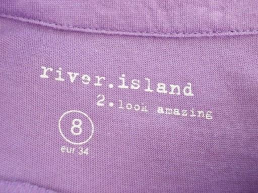 Bluzka crop top krótka River Island 36 / 38 NOWA