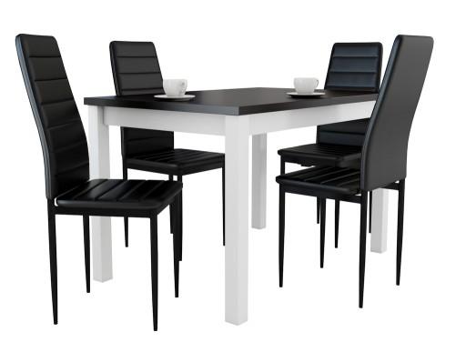 Mały Stolik Z 4 Krzesłami Do Mieszkania